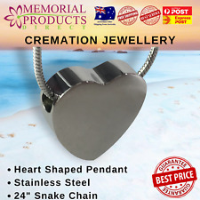 Cremation Jewellery - Heart Shape