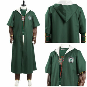 Slytherin Green Quidditch Magic  Costume Cape Only M Size