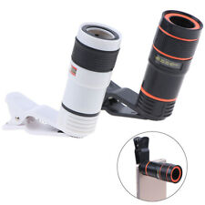 8x Optical Zoom Lens Telescope Telephoto Clip on for Mobile Cell Phone Camera _E