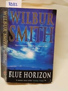 Wilbur Smith blue Horizon ATT libro in inglese