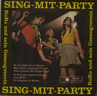 """Rock and His Singing Club - Sing-Mit-Party 2 Metronome M985 Single 7 """" (J141)"""