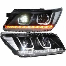 For Dodge Journey JCUV Fiat Freemont LED U Style Head Lamps LED Light High Beam
