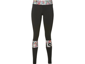 Asics Women's Running Tights LP Liberty Fabric Tights - Black - New