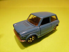 MEBETOYS A48 AUTOBIANCHI A112 - LANCIA BLUE 1:43 - EXCELLENT CONDITION