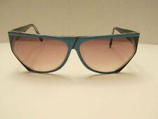 Zollitsch Vintage Blue and Black Frame Plastic Sunglasses