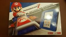 Nintendo 2DS - Electric Blue with Mario Kart 7 Game Pre-Installed FAST SHIPPING