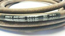 Gates Round, Endless Power Transmission Belt, 0445149331, 9/16