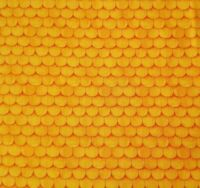 Hairraising Halloween BTY J Wecker Frisch Quilting Treasures Yellow Orange