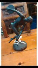 Grand Tour Austria Souvenier Bronze Man Statue Circa 1900
