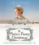 A Plain and Fancy Christmas Cynthia Keller (2011,Unabridged) EX LIB FREE SHIPPIN