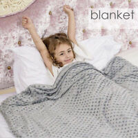 Home Comfort Weighted Blanket Adult Sensory Anxiety Gravity Insomnia Stress UK Q