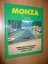 MONZA STORIA DELL'AUTODROMO AUTODROME HISTORU 1922-1997 AUTOMOBILISMO 1997