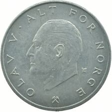 COIN / NORWAY / 1 KRONE 1975     #WT17556
