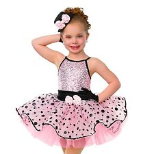 """Curtain Call Dance Costumes E1124 """"Sweethart"""" Size CME"""