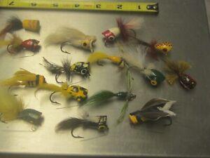 15 vintage unusual poppers fishing