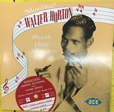 WALTER HORTON Mouth Harp Maestro Ace Records UK VG+ LP Blues 1988 Compilation