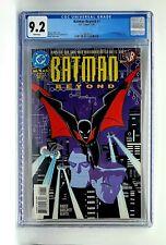 Batman Beyond #1 - CGC 9.2 DC 1999 1st Comic Book Appearance of Terry McGinnis.