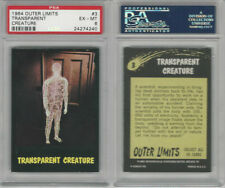 1964 Bubbles Inc, Outer Limits, #3 Transparent Creature, PSA 6 EXMT