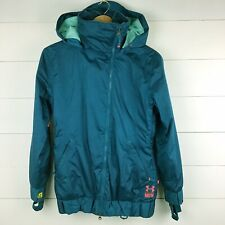 Under Armour MTN Mountain Women's XS Jacket Blue Teal Vented Snowboard Ski