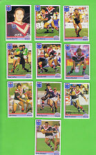 1992  EASTERN SUBURBS ROOSTERS  RUGBY LEAGUE CARDS