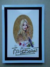 Brigitte Bardot  /  Milo Manara  ... Autographe ...