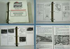 Mercruiser GM V8 MCM MIE Marine Engines Service Manual 1992