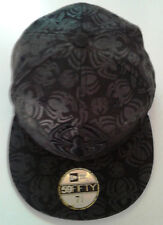 New Era 59Fifty Spiderman All Over Logo Fitted Hat-New Old Stock - 7 3/4- 2009