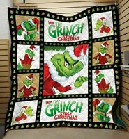 The Grinch How the Grinch Stole Christmas Sofa Blanket