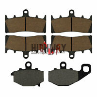Front Rear Brake Pads for For KAWASAKI ZX 6R ZX-9R ZX 600 ZZR 600 ZX-9R Ninja