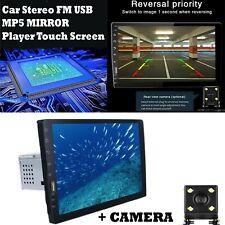 "Single 1 Din 9"" Car Stereo FM USB  MP5 Player Touch Screen Radio BT w/ Camera"