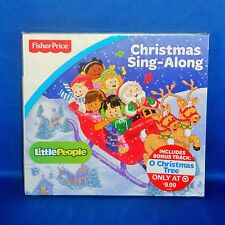 Fisher Price - Little People - Christmas Sing-Along CD - NEW