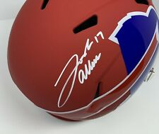 Josh Allen Speed Rep Full Size Helmet Buffalo Bills QB! Fanatics COA