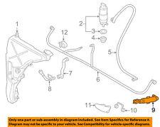 AUDI OEM A8 Quattro Headlight Head light lamp Washer/wiper-Cylinder 4H0955101D