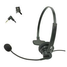 Home Office Phone headset, Noise Canceling Rotatable Microphone, Volume & Mute