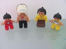 LEGO DUPLO @@  PERSONNAGE @@ FIGURE @@ LOT DE 4 @@ 5