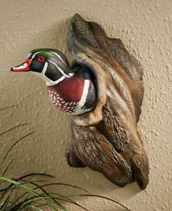 Duck in Tree Wall Sculpture by Phil Galatas