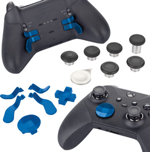 Xbox Elite Series 2 Controller Replacement Part Custom Accessory Kit - Blue