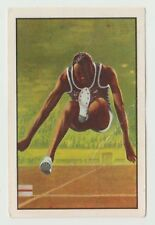 1976 Portugese Olympic Games Sticker Stamp USA Long Jump legend Bob Beamon #157
