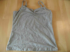 S.OLIVER selection chices Basic-Top grau Gr. 40 TOP ZC316