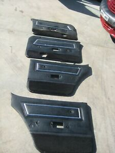 Ford Falcon XC Station Wagon Door Trims - Refer Description and Photos