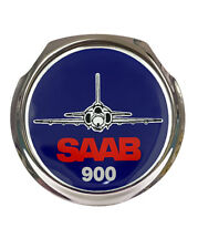 Saab Plane 900 Face on Design Car Grille Badge - FREE FIXINGS