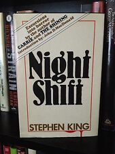 Stephen King Night Shift Book Club Edition HC 1978