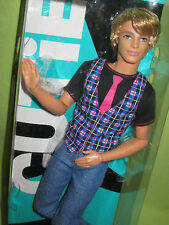 RARE 2010 Barbie CUTIE KEN Fashionistas V4387 Articulated DOLL Rooted Hair NRFB