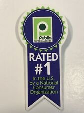 Publix Rated #1 Pin/ Button