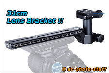 Benro LH280 Lens Bracket for H8 H10 Sachtler Video Head ArcaSwiss
