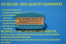 Ricoh GC-21 Ink Cartridge Resetter GX2050N 3000 3050N 3050SFN 5000 5050N 7000