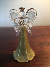 vintage Carlton Cards blown glass Angel figurine /Ornament
