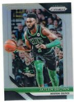 2018-19 Panini Prizm Basketball Jaylen Brown SP Silver Refractor #108 Celtics