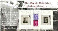 GB Presentation Pack 398 2007 Machin Definitive 40TH Anniversary