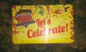 Incredible Pizza Company * Game Card * Credits 10/Bonus 3.25/Tickets 77
